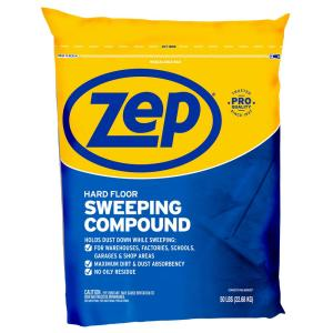 Zep 50 Lbs Sweeping Compound Hdsweep50 The Home Depot