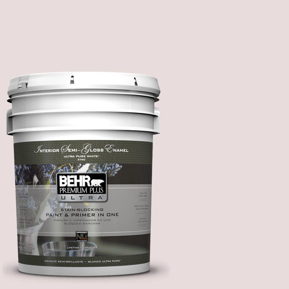 BEHR Premium Plus Ultra 5-gal. #720A-2 Memories Semi-Gloss Enamel Interior Paint