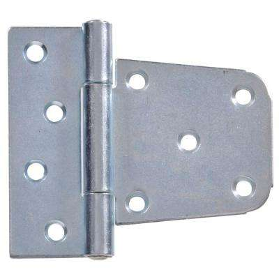 3-1/2 in. Heavy Duty T-Hinge in Zinc-Plated for 2 x 4 or 4 x 4 Post Applications (5-Pack)
