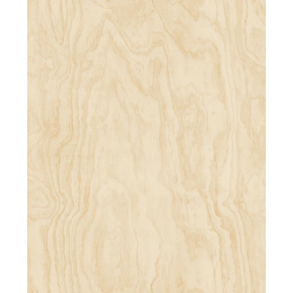 Bentham Neutral Plywood Neutral Wallpaper Sample