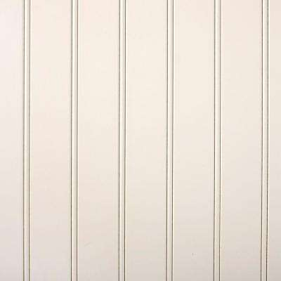 3/16 in x 24 in x 32 in  Primed White MDF Beaded Wainscot Panel (5.3 sq. ft.)
