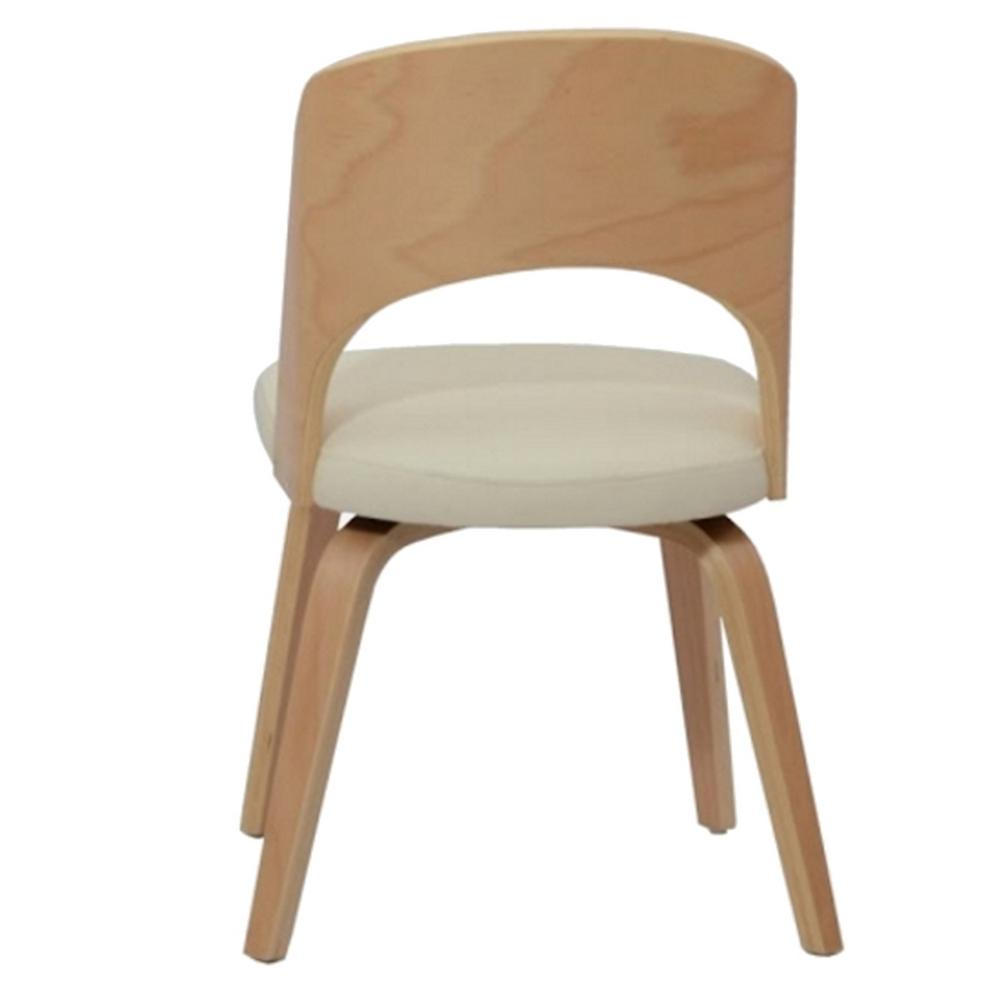 Charmant Off White Bendino Dining Chair