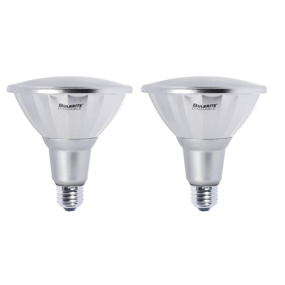 Bulbrite 40w Equivalent Warm White Light B11 Dimmable Led: Bulbrite 85W Equivalent Warm White PAR38 Dimmable LED Wet