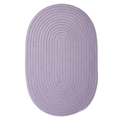 Trends Amethyst 8 ft. x 11 ft. Oval Braided Area Rug