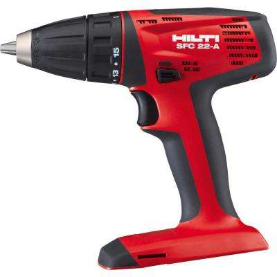 22-Volt Lithium-Ion 1/2 in. Cordless Drill Driver SFC 22 Tool Body
