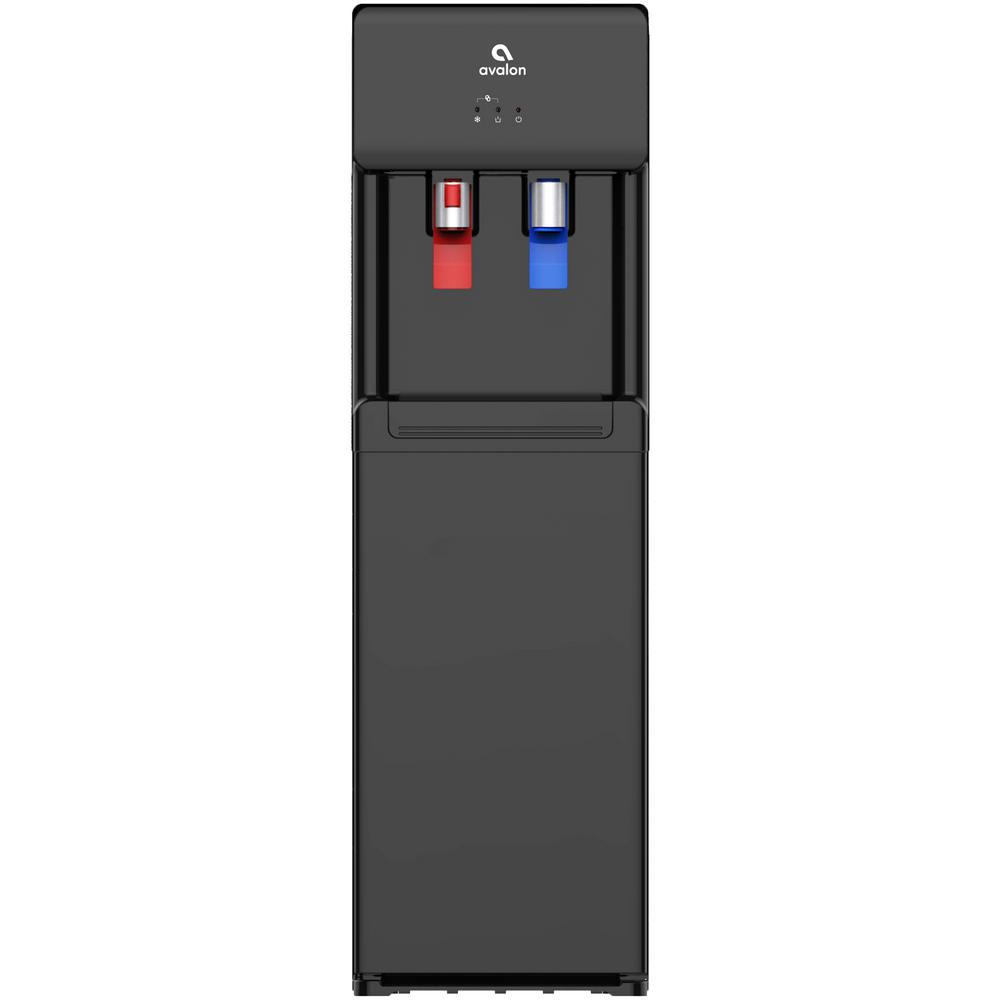 Bottom Loading Water Cooler Dispenser, Hot & Cold Water, UL/Energy Star- Black