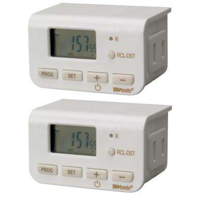 Woods Timers Wiring Devices Light Controls The Home Depot