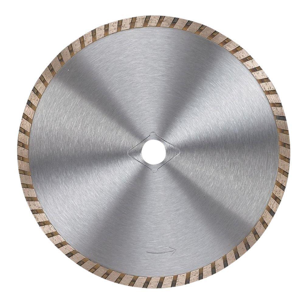 7 in. Premium General Purpose Turbo Diamond Circular Saw Blade for Concrete, Brick, and Stone