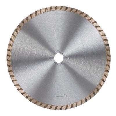 7 in. Premium General Purpose Turbo Diamond Circular Saw Blade for Concrete, Brick, and Stone