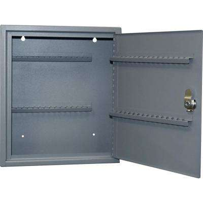 0.21 cu. ft. All Steel Hook Design Key Cabinet in Gray