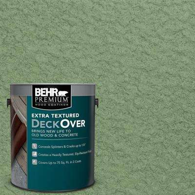 1 gal. #SC-132 Sea Foam Extra Textured Solid Color Exterior Wood and Concrete Coating
