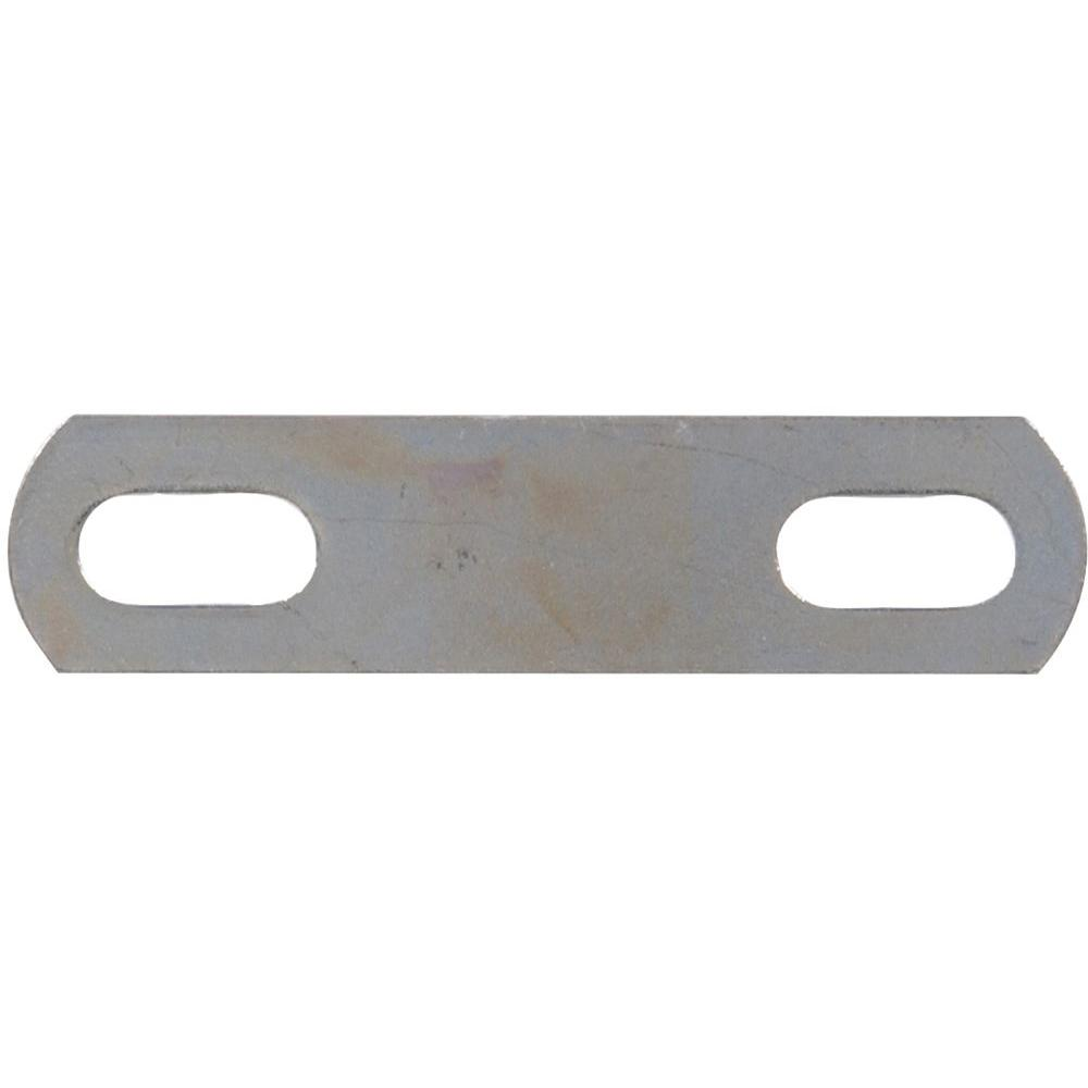 The Hillman Group 3 in. Square U-Bolt Plate Only (10-Pack)