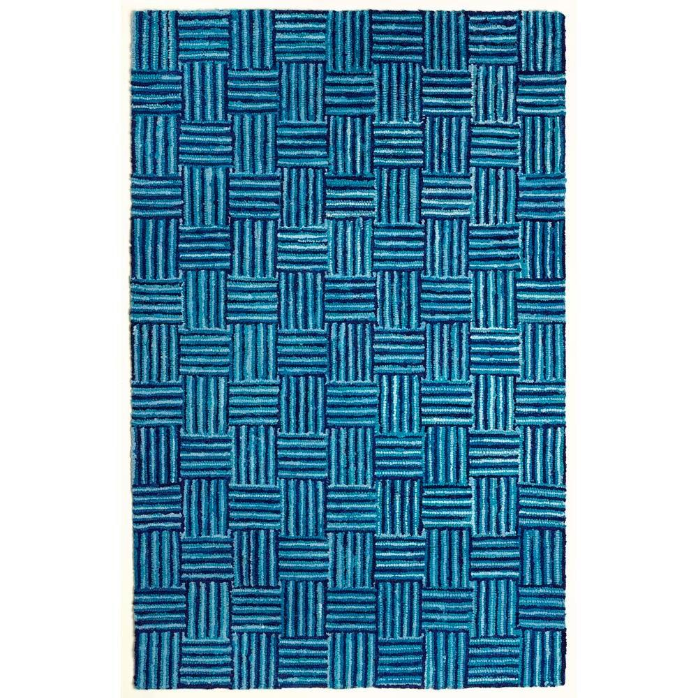 Susa Blue Skies Blue 8 ft. x 10 ft. Area Rug