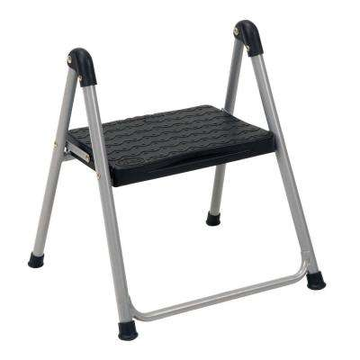 1-Step Steel Step Ladder Stool without Handle