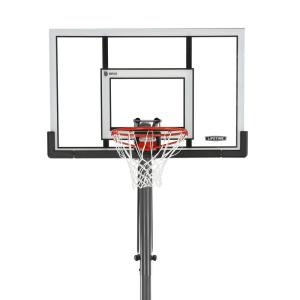 Lifetime 52 inch Steel-Framed Acrylic Portable Basketball System -XL Base with Power Lift by Lifetime