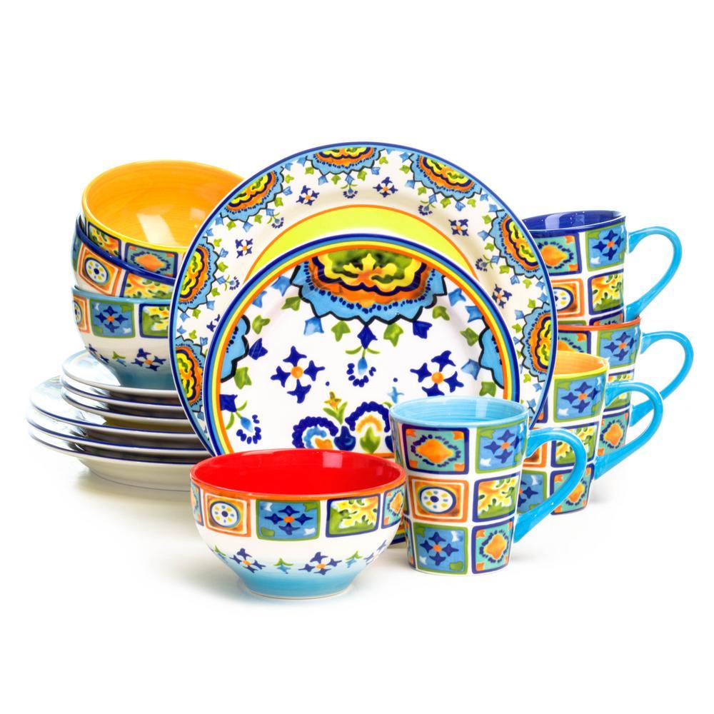 Mumbai 16-Piece Dinnerware Set
