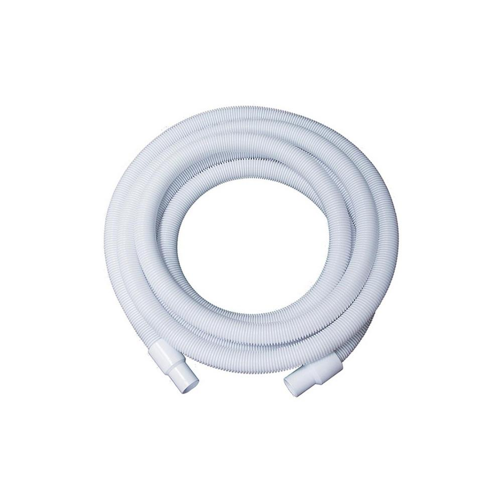 75 ft. x 1.25 in. White Blow-Molded Ldpe In-Ground Swimming Pool Hose -  Pool Central, 31515213