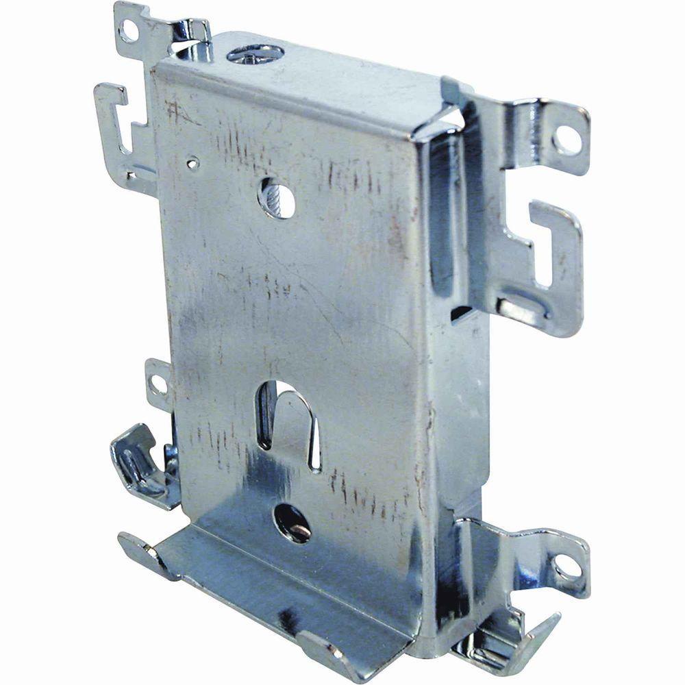 Mirrored Sliding Closet Door Rollers: Prime-Line Sliding Mirror Door Bottom Roller Assembly-N