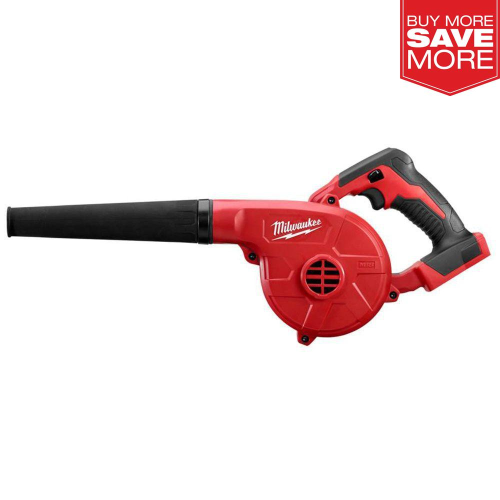 Milwaukee  M18  Battery  Compact Leaf Blower  Handheld