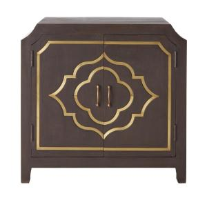 Laila Slate Brown Night Stand