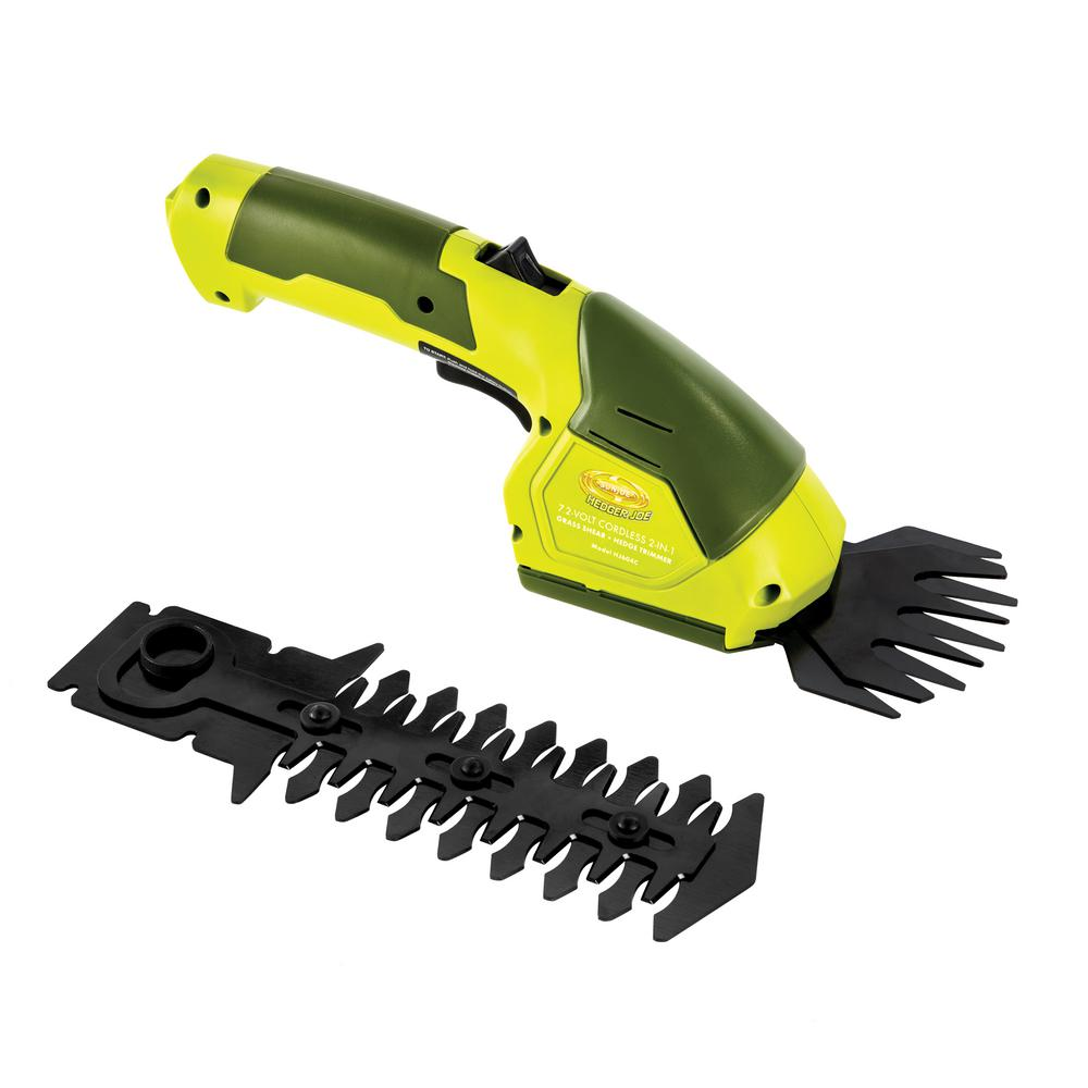 7.2-Volt Cordless 2-In-1 Grass Shear and Hedge Trimmer Refurbished