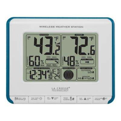 Wireless Weather Station with Heat Index and Dew Point