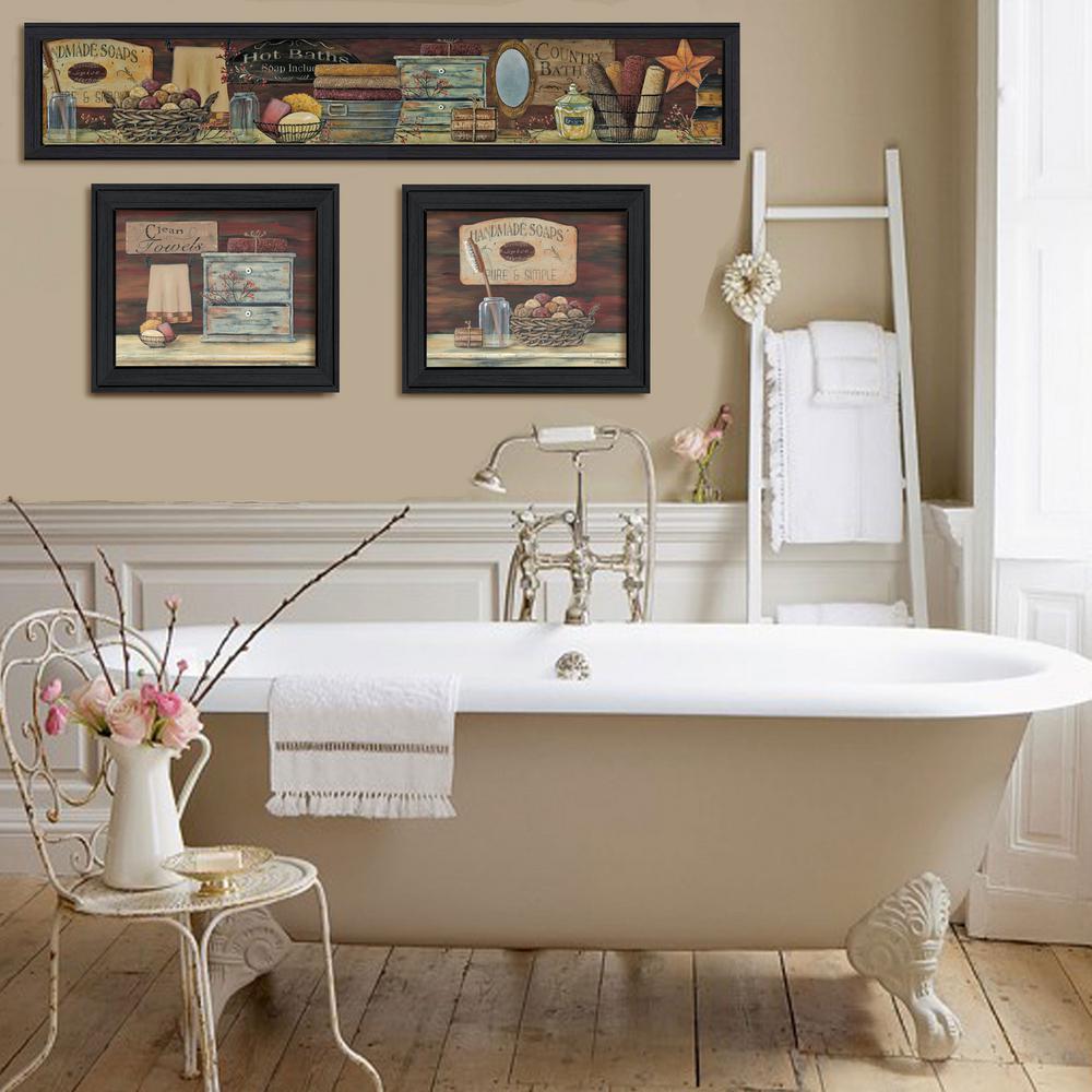 "''Country Bath I"" by Pam Britton"