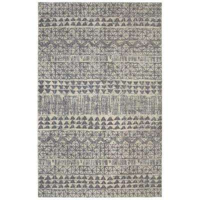 Billerica Grey 10 Ft X 14 Indoor Area Rug Blue
