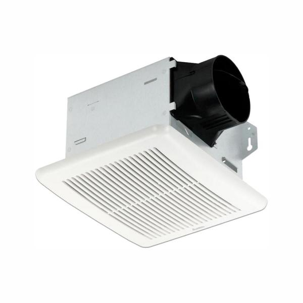 Integrity Series 80 CFM Wall or Ceiling Bathroom Exhaust Fan, ENERGY STAR