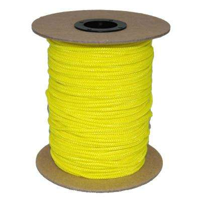 3/32 in. #3 SIDEWALL 300 ft. -  NEON YELLOW