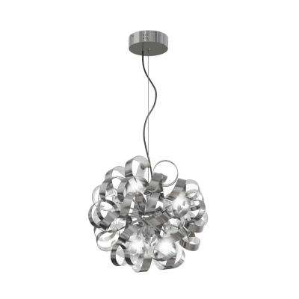 Fame 26-Watt Brushed Aluminum Integrated LED Pendant