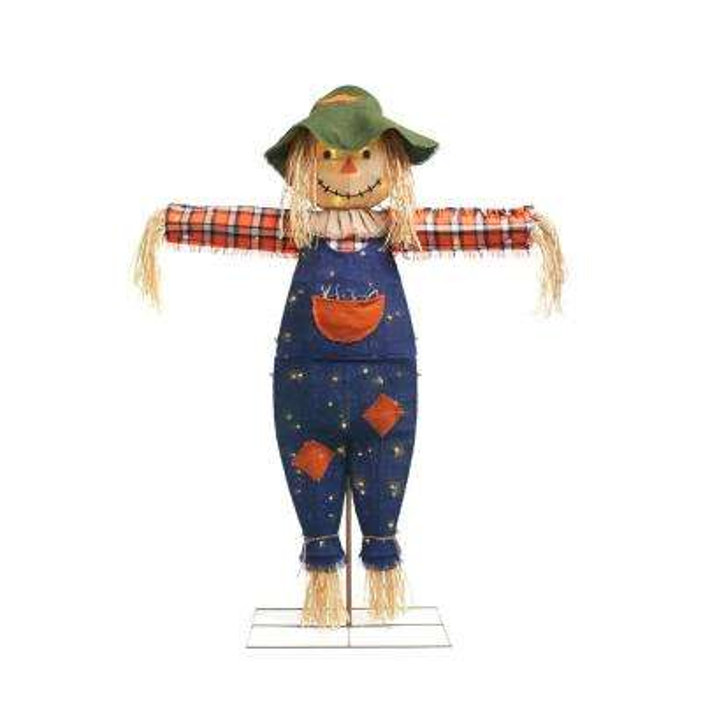 72 in. Burlap Scarecrow