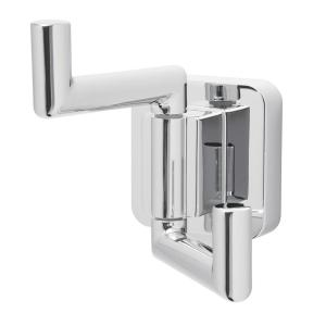 Speakman Kubos Double Robe Hook in Polished Chrome by Speakman