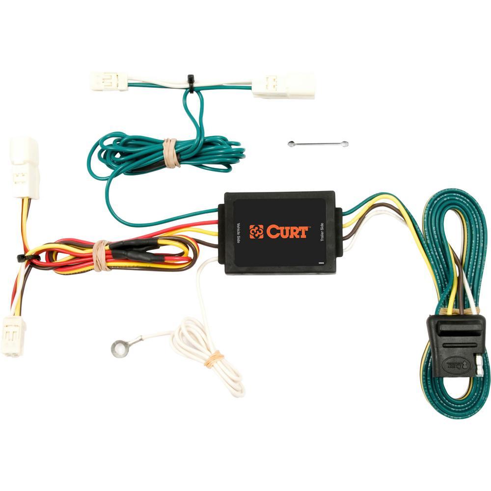 CURT Custom Wiring Harness (4-Way Flat Output) on
