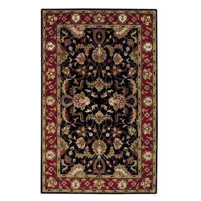 Constantine Black 4 ft. x 6 ft. Area Rug