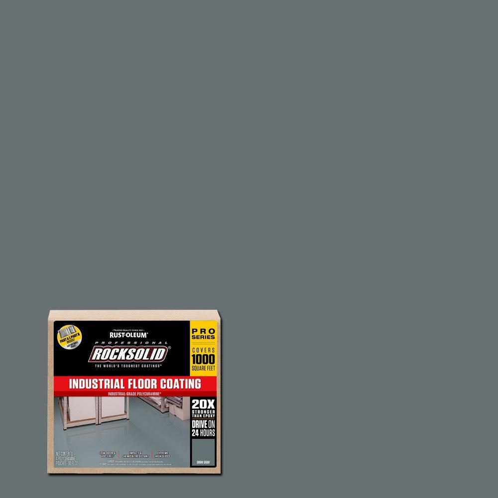 360 oz. Dark Gray Polycuramine Industrial Floor Coating