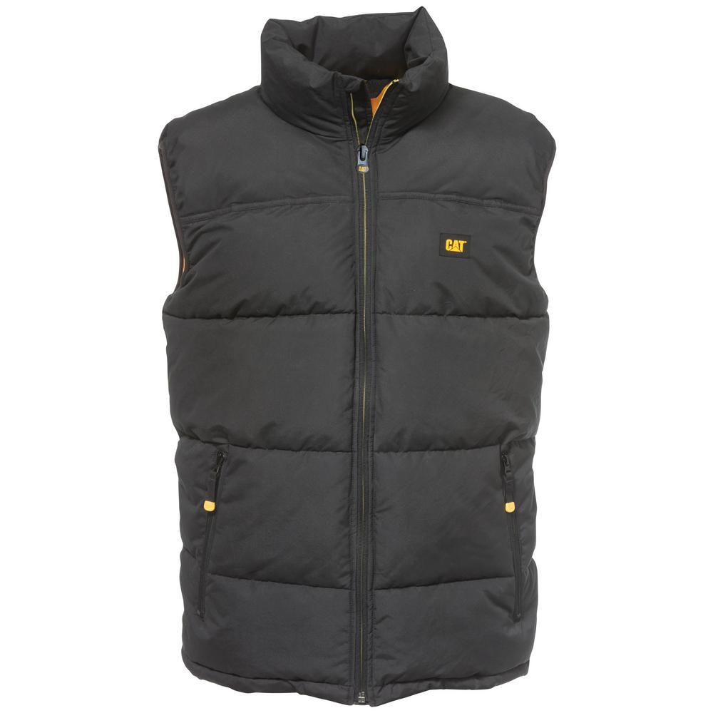 db7970164c7 882600015635. Caterpillar Arctic Zone Men's Large Black Polyester Vest