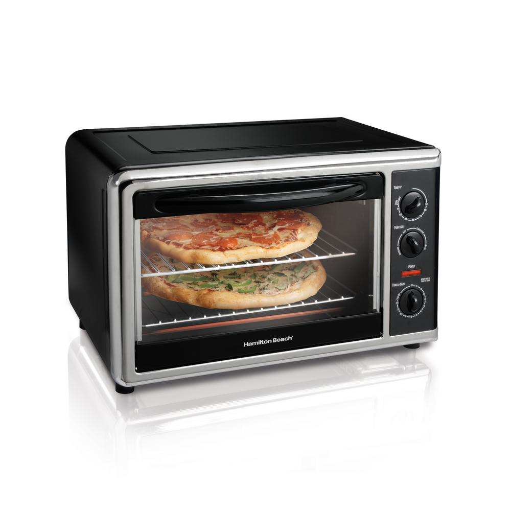 Hamilton Beach Black Toaster Oven