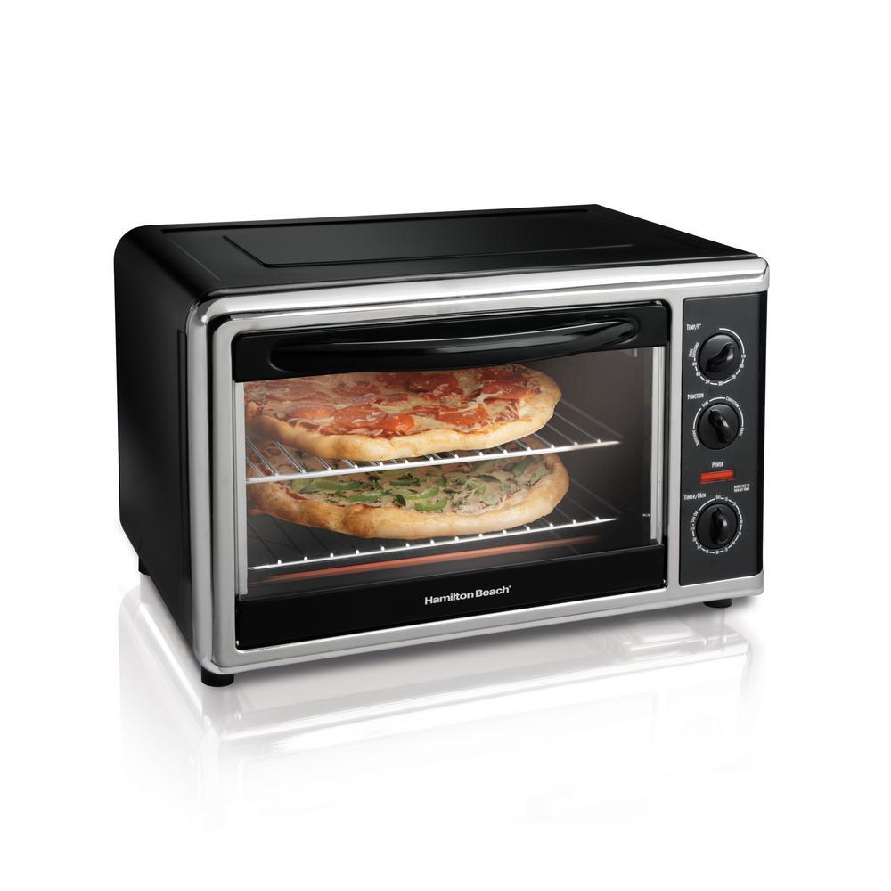 Hamilton Beach Black Toaster Oven