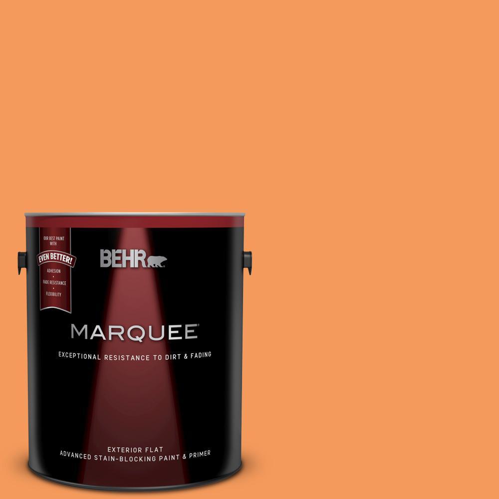 260b 6 Blaze Orange Flat Exterior Paint And Primer