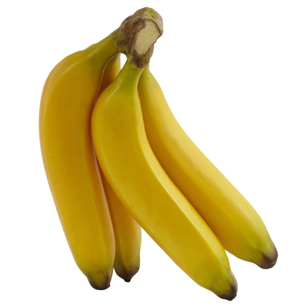 Nearly Natural Banana Bunch (Set of 4)-2191-S4 - The Home ...