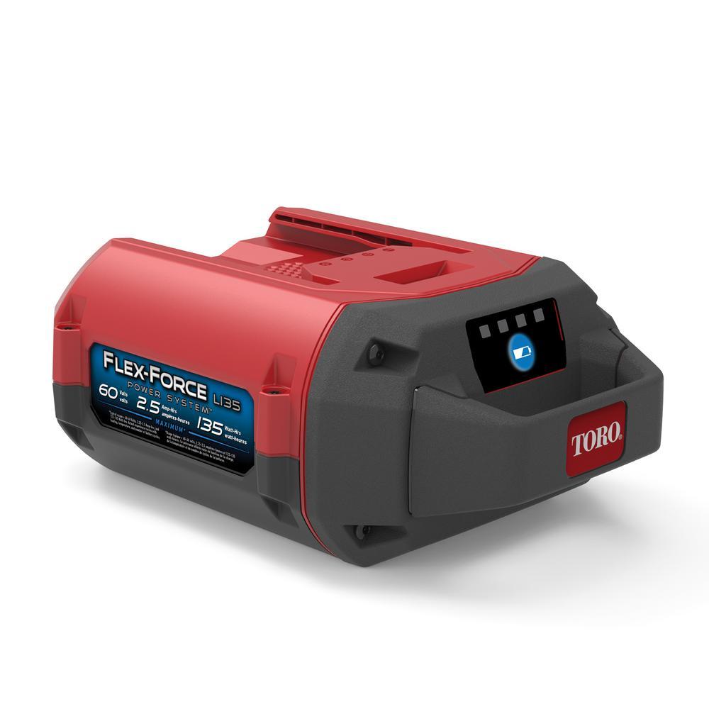 Flex-Force Power System 60-Volt Max 2.5 Ah Lithium-Ion L135 Battery