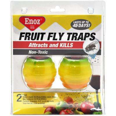 Fruit Fly Traps (2-Pack)