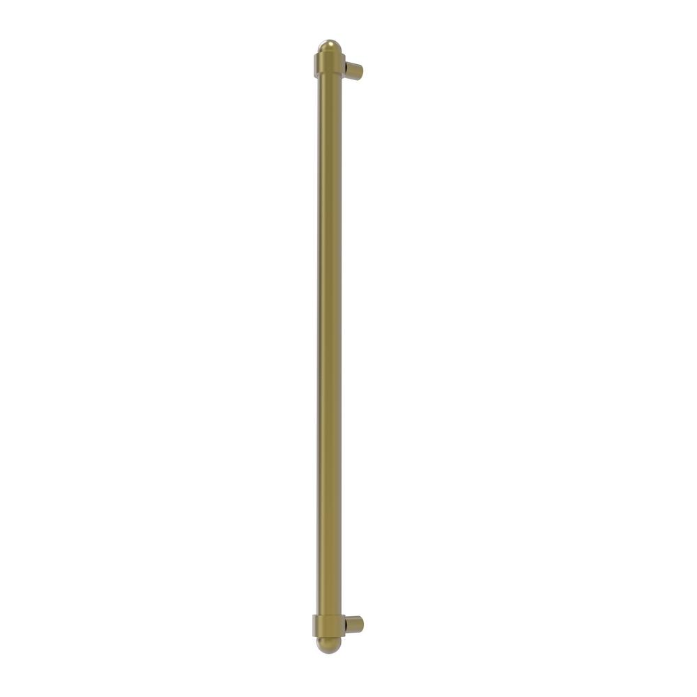 Allied Brass 18 in. Center-to-Center Refrigerator Pull in Satin Chrome Transform your kitchen with this elegant Refrigerator and Appliance Pull. This pull is designed for replacing the pulls or handles on your built-in refrigerator, freezer or any other built in appliance. Appliance pull is made of solid brass and provided with a lifetime finish to insure products will provide a lifetime of service.