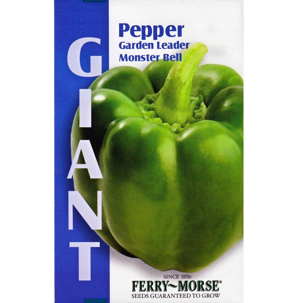 Ferry-Morse Giant Garden Leader Monster Bell Pepper Seed-2139 - The on home depot organic gardening, home depot planting, home depot lavender, home depot weeds, home depot peonies, home depot chrysanthemums, home depot hostas, home depot fall, home depot wildlife, home depot sweet potato, home depot tobacco, home depot vegetables, home depot daffodils, home depot coffee, home depot green beans, home depot hot peppers, home depot rosemary, home depot lawn care, home depot drought, home depot recipes,