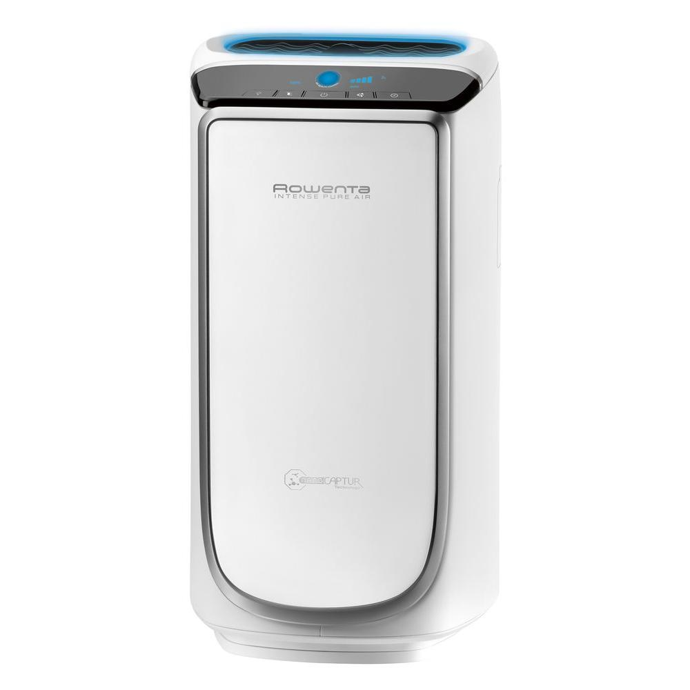 400 sq. ft. Intense Pure Air Purifier in White and Silver