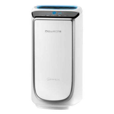 116 sq. ft. Intense Pure Air Purifier in White and Silver