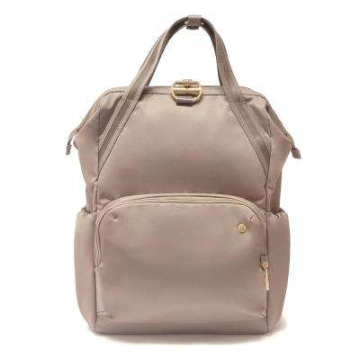 Citysafe 15 in. Blush Tan Backpack with Laptop Compartment