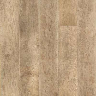Outlast + Southport Oak Laminate Flooring - 5 in. x 7 in. Take Home Sample