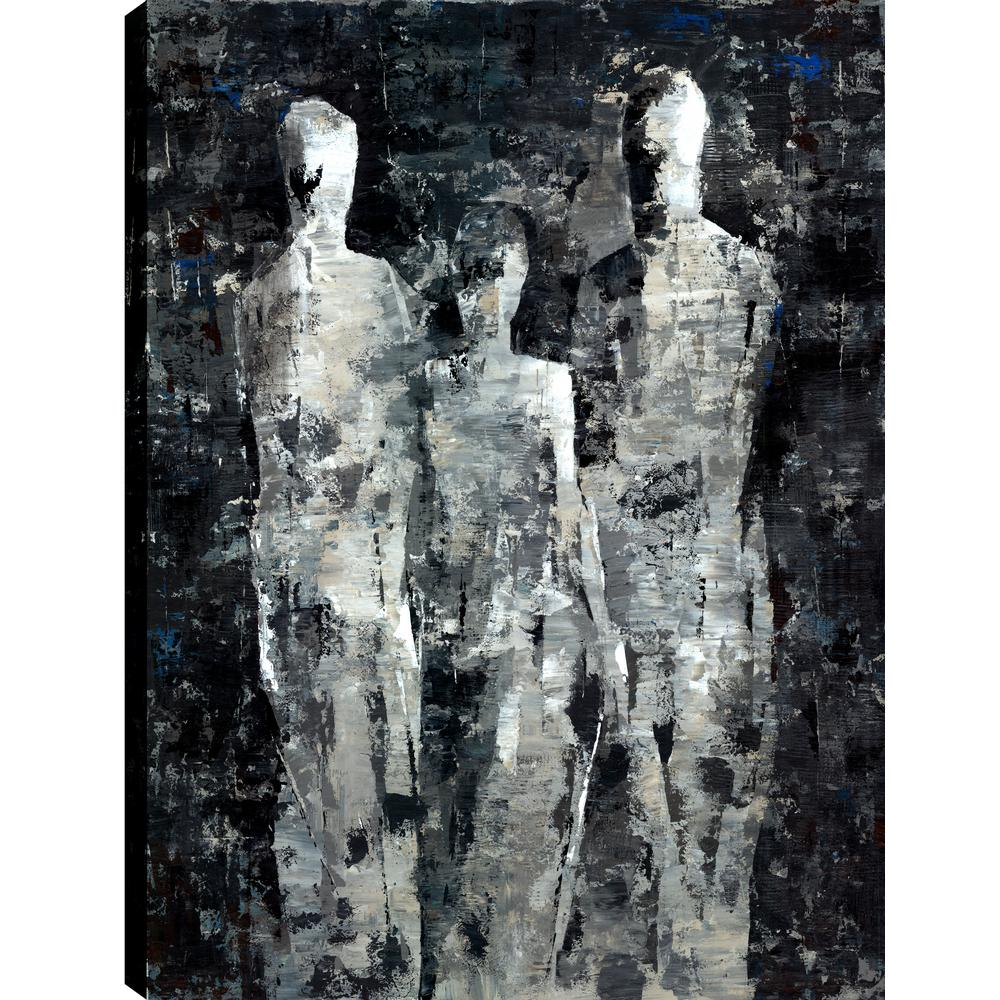 People Ii Figurative Art Fresh Printed Canvas Wall Art Decor